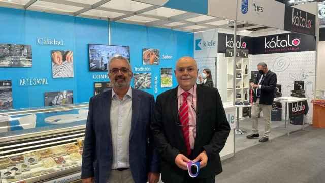 Eleazar Belmonte y Kiko Santos, socios de INKIELE S.L.