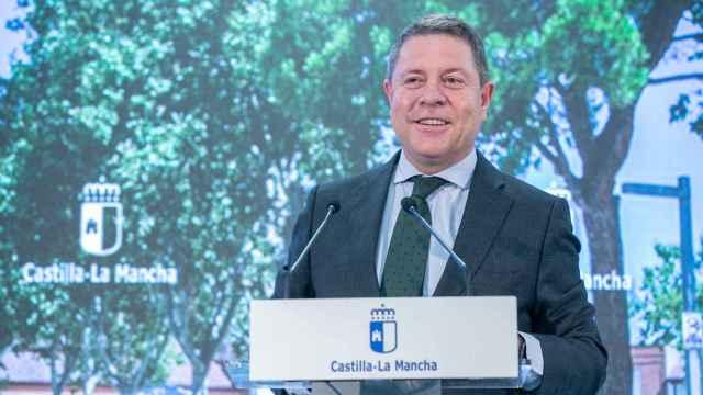 Emiliano García-Page en Marchamalo (Guadalajara)