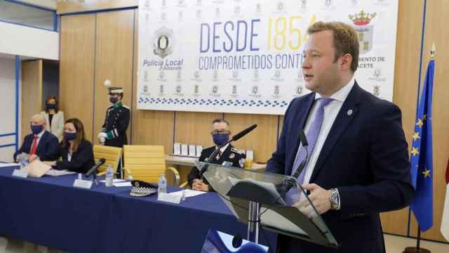 Vicente Casañ fue alcalde de Albacete hasta el pasado mes de junio. Foto: Twitter.
