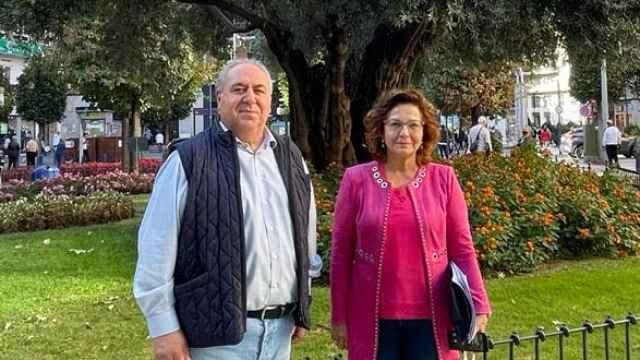 Vicente Tirado y Carmen Riolobos en Talavera de la Reina.