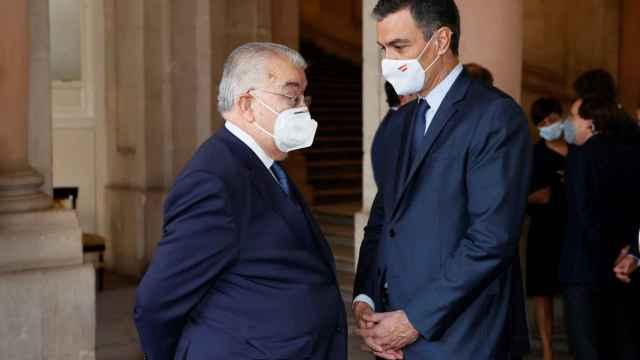 González Rivas y Pedro Sánchez en una imagen de archivo./