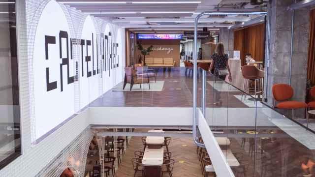 Nuevas oficinas de Accenture en Madrid. FOTO: Accenture