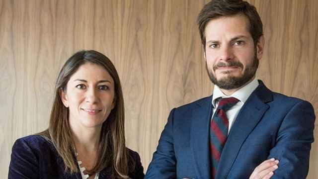 Lola Jaquotot y Alfonso de Gregorio, en una foto de archivo de Trea AM.