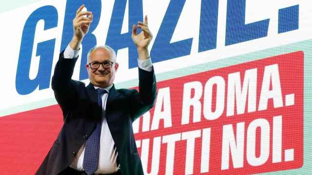 Roberto Gualtieri, ganador de la Alcaldía de Roma en las elecciones municipales.