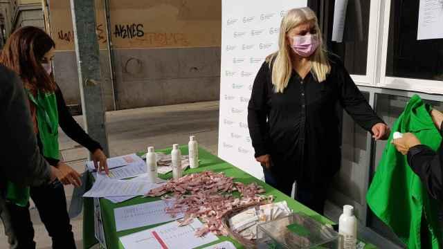 Día mundial contra el cáncer de mama en Zamora