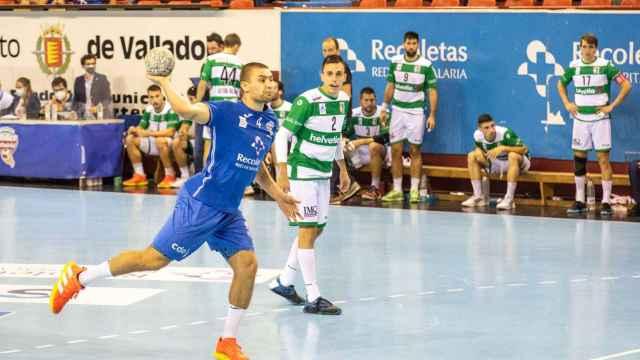 Paolo Roki, jugador del Atlético Valladolid