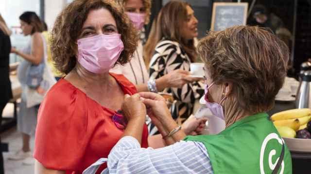 Amupema y Giants organizan una jornada de concienciación para la prevención del cáncer de mama