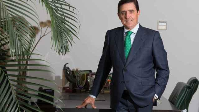 Carlos Martínez Izquierdo, presidente de la Unión de Cajas de Ahorro Rurales de Castilla y León