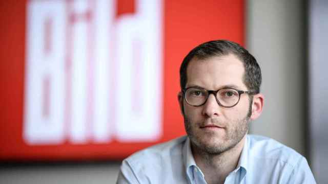 Julian Reichelt, director del diario 'Bild' hasta el pasado lunes.