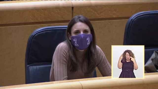 Irene Montero justifica la contratación en Igualdad de la condenada Isa Serra