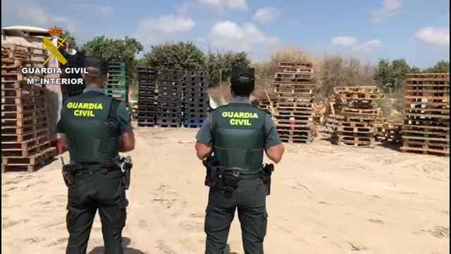 La Guardia Civil ha detenido a los presuntos autores del robo en San Vicente del Raspeig y Sant Joan d'Alacant.