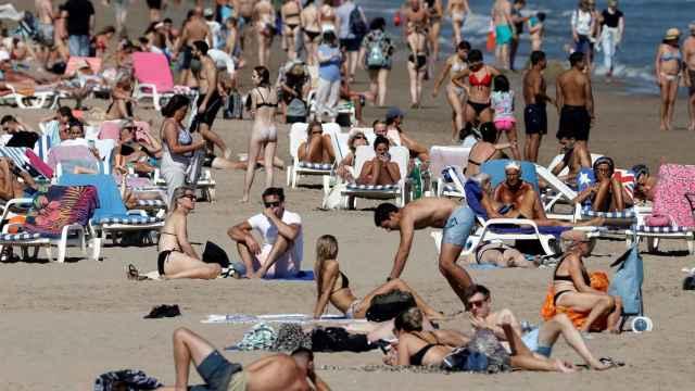 Playa de la Comunidad Valenciana este mes de octubre.