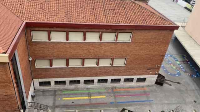 Patio de un centro escolar de Valladolid