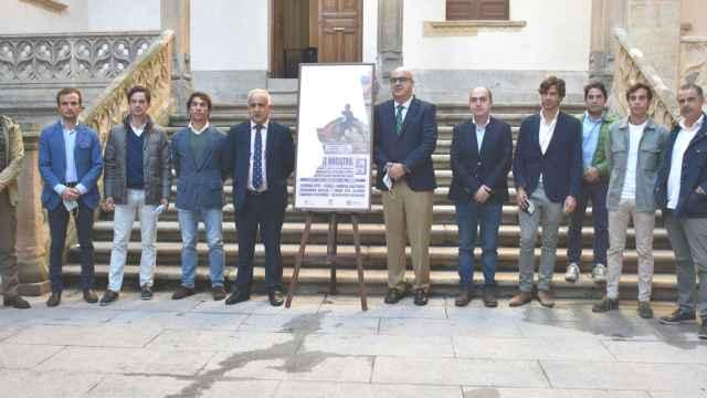 Presentación de la 'Clase Magistral de Alba de Tormes, en la Diputación de Salamanca