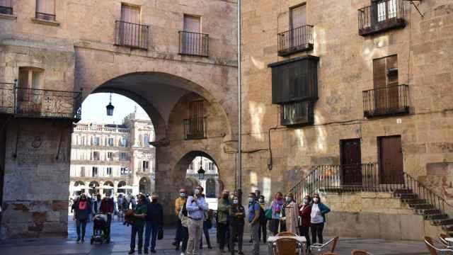 Entorno de la Plaza del Corrillo de Salamanca
