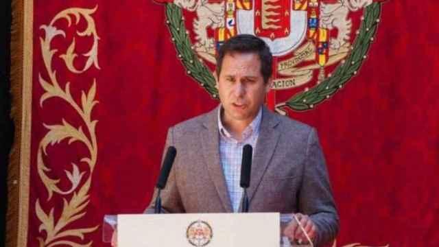 Mario de Fuentes, portavoz de Vox en la Diputación de Valladolid