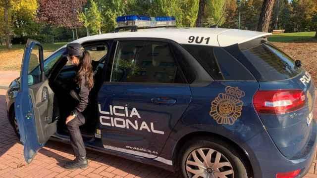 Policía Nacional en una actuación en Valladolid