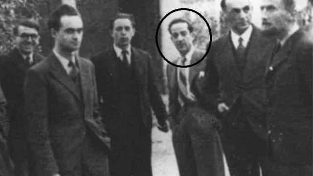 Faustino Antonio Camazón junto a Alan Turing y más científicos que descifraron Enigma