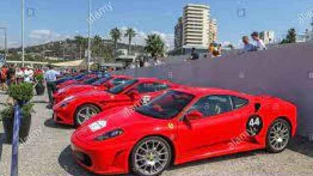 Ferrari en caravana