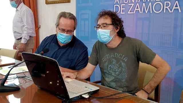Francisco Guarido y Miguel Ángel Viñas