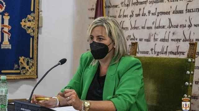 Patricia Martín, concejal de Hacienda del Ayuntamiento de Benavente