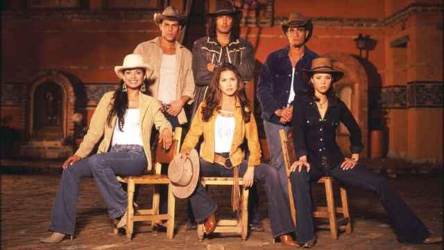 Los protagonistas de 'Pasión de Gavilanes' en una imagen de archivo.