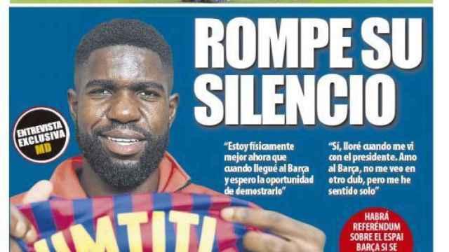 Portada Mundo Deportivo (19/10/21)