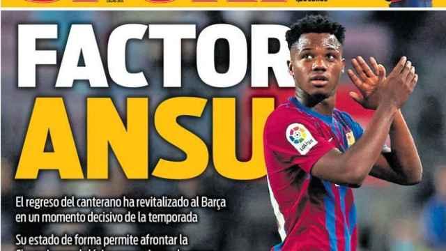 Portada Sport (19/10/21)