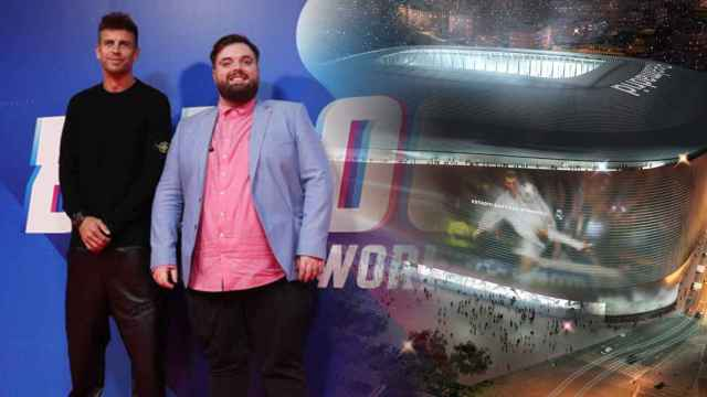 Piqué sueña con disputar su Mundial de Globos en el Nuevo Santiago Bernabeu