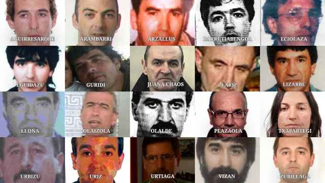 20 de los 26 terroristas de ETA a los que Interior trata de localizar desde hace años.