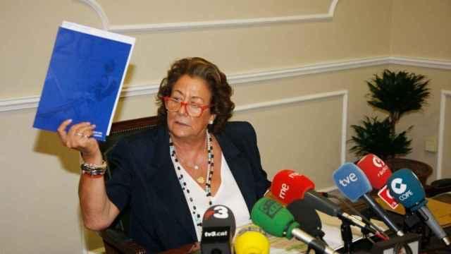 Rita Barberá, exalcaldesa de Valencia con el PP. EE