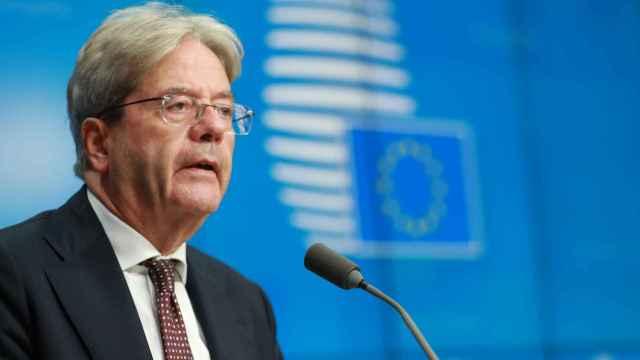 El comisario de Asuntos Económicos, Paolo Gentiloni