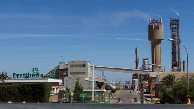 La planta de Fertiberia en Palos de la Frontera (Huelva).