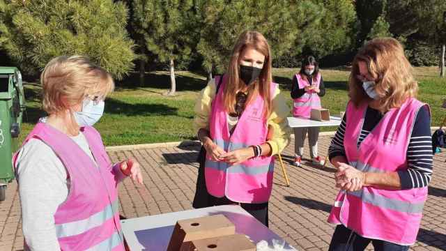 Mujeres voluntarias en Salamanca.