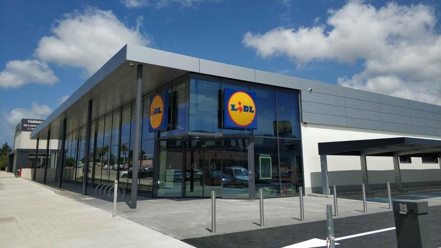 Un supermercado de Lidl.