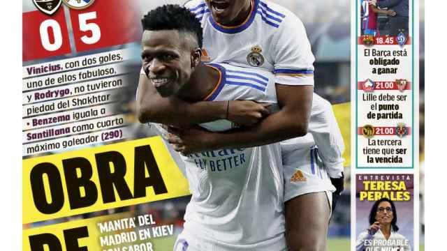 La portada del diario MARCA (20/10/2021)