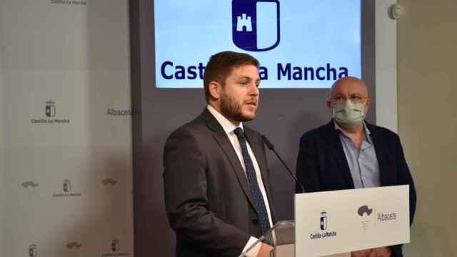 El consejero de Fomento de Castilla-La Mancha, Nacho Hernando, este miércoles en Albacete