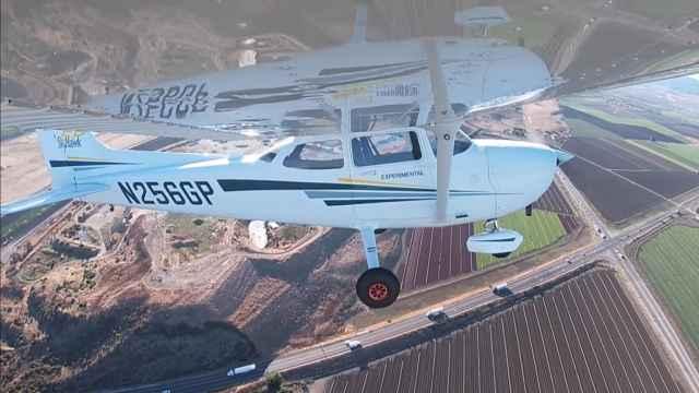 Cessna 172 Skyhawk sin piloto