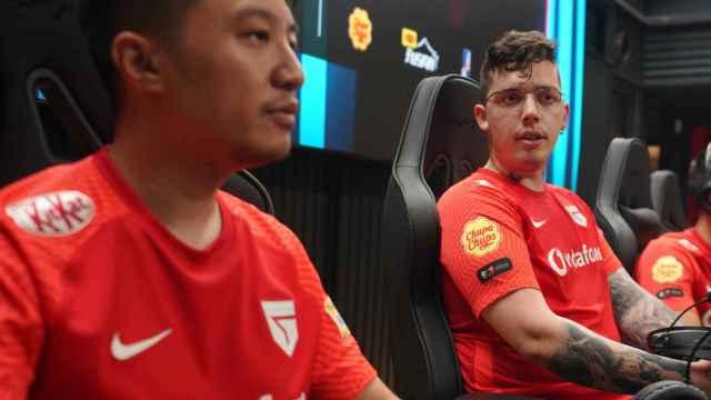 Kasing y Attila, dos de los profesionales de Vodafone Giants Málaga.