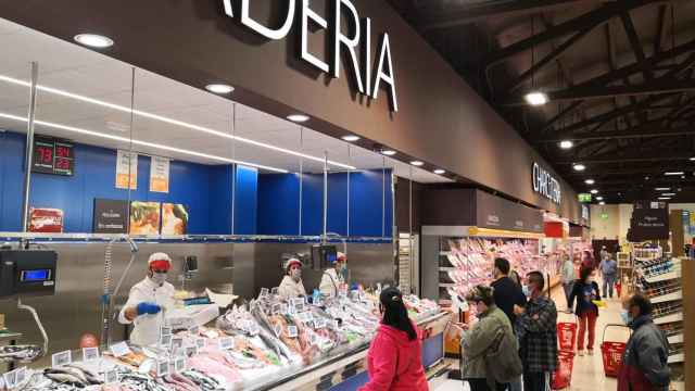 Pescadería en un supermercado Gadis