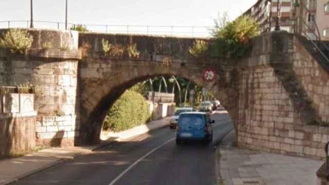 Imagen del Puente de San Marcos en León