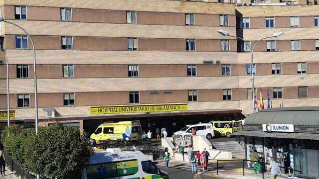 Imagen de archivo del Hospital Clínico de Salamanca