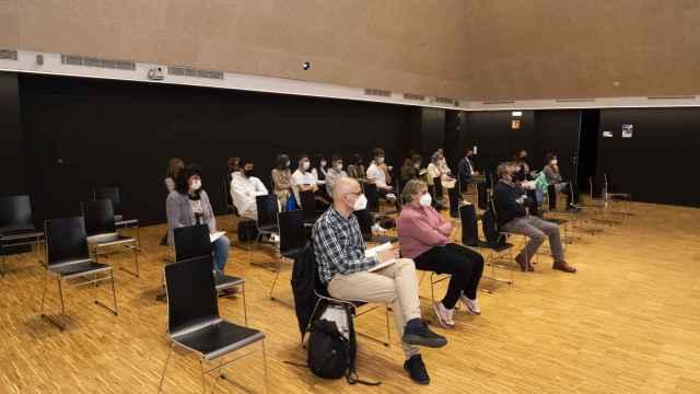 Imagen de archivo de un congreso anterior de la Universidad de Valladolid