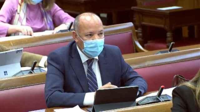 José María Barrios en el Senado