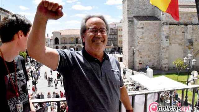 Francisco Guarido durante su toma de posesión en 2019