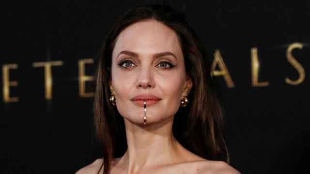 Angelina Jolie, en el estreno de 'Eternals' este martes en Los Ángeles.