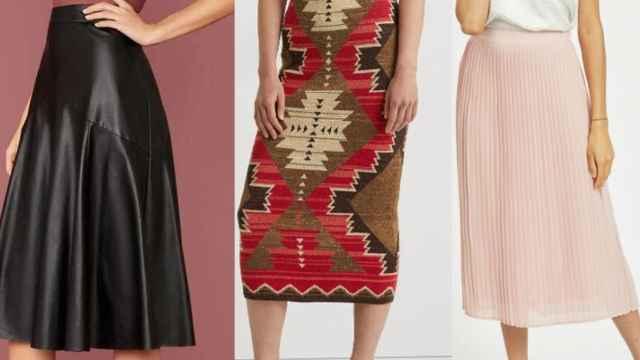 10 faldas de mujer que podrás combinar con todo tipo de 'looks'
