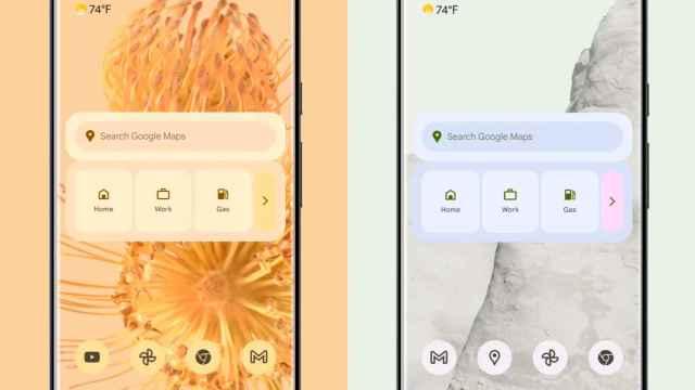 Nuevos widgets de Google en Android 12