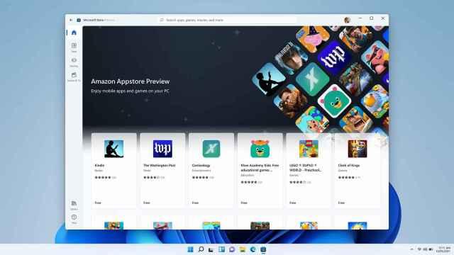 La App Store de Amazon ofrecerá una pequeña selección de apps de Android en Windows 11