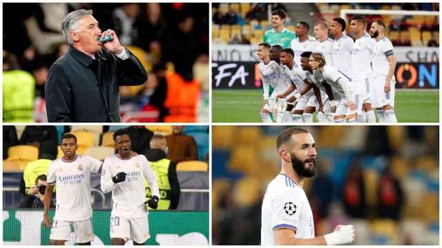 La victoria del Real Madrid contra el Shakhtar Donetsk